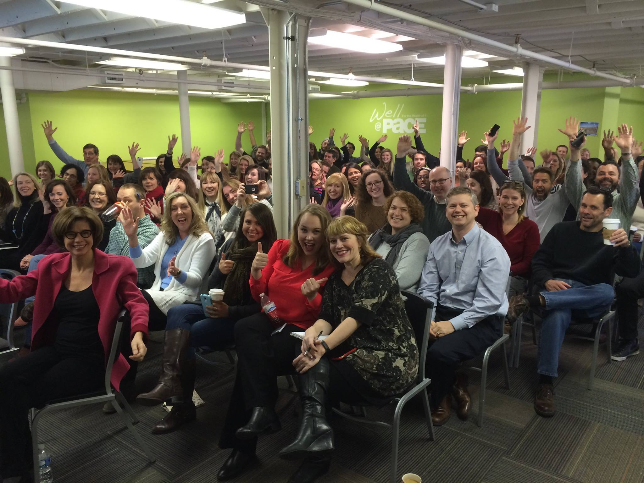 Pace's first company meeting of 2015…let's do this!